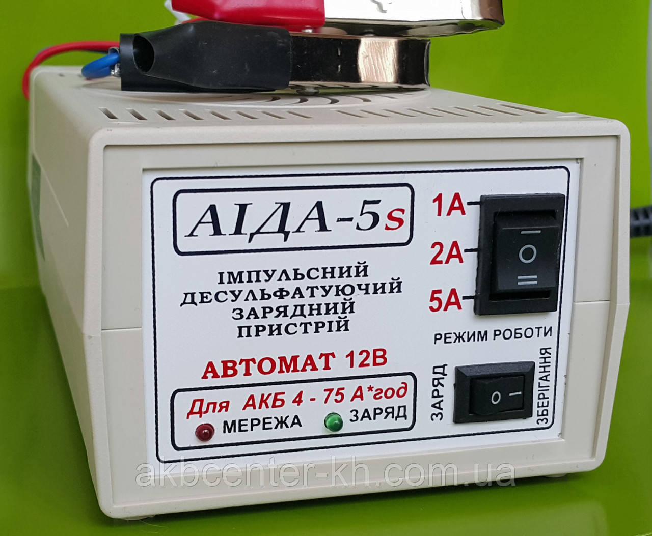 Зарядное устройство АИДА-5s гелевых/кислотный