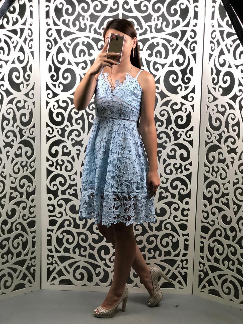 """Сногсшибательное женский сарафан ажурный ткань """"Кружево на подкладке"""" 42, 44 размер норма"""