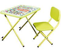 Детская складная стол-парта со стульчиком Ommi оптима для детей 3-8 лет