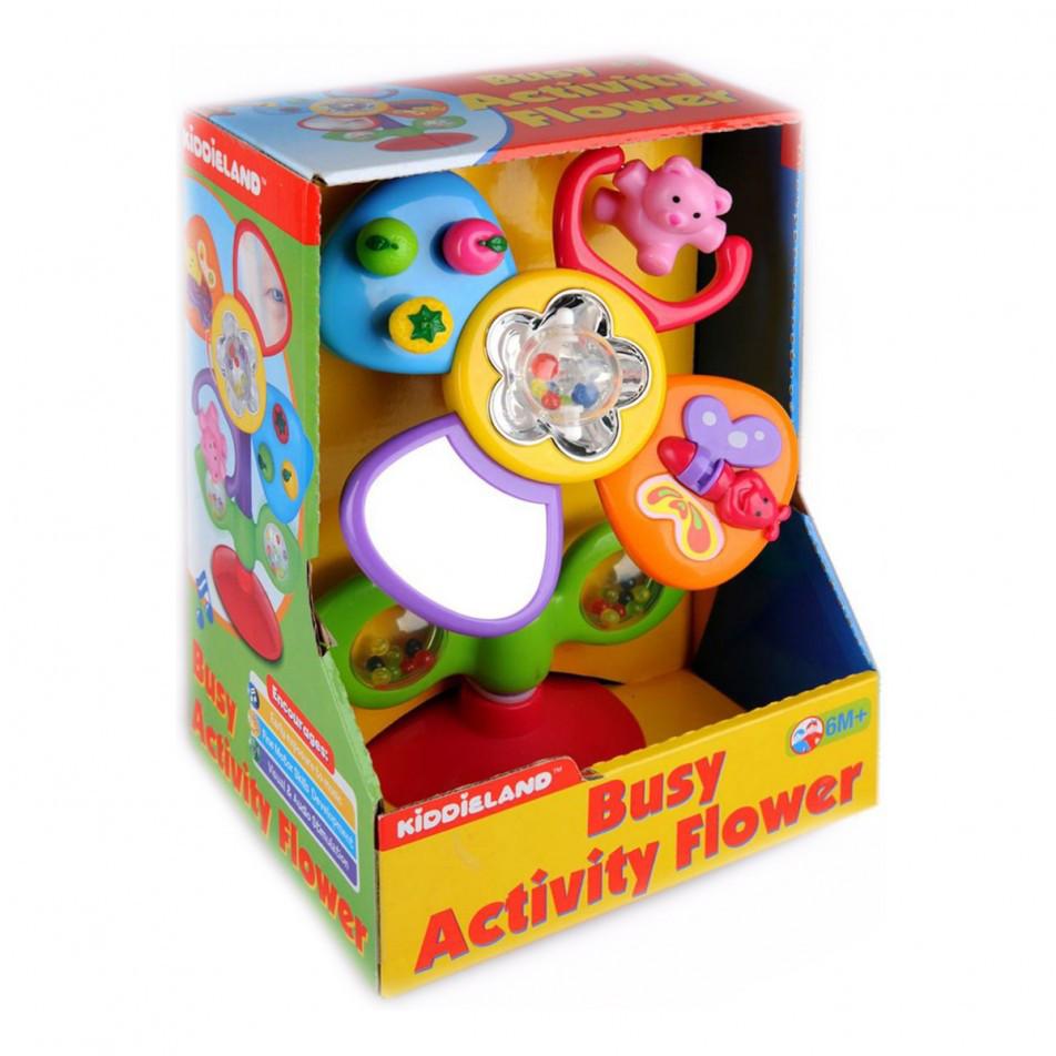 Развивающая игрушка Цветик Kiddieland, муз, 051185