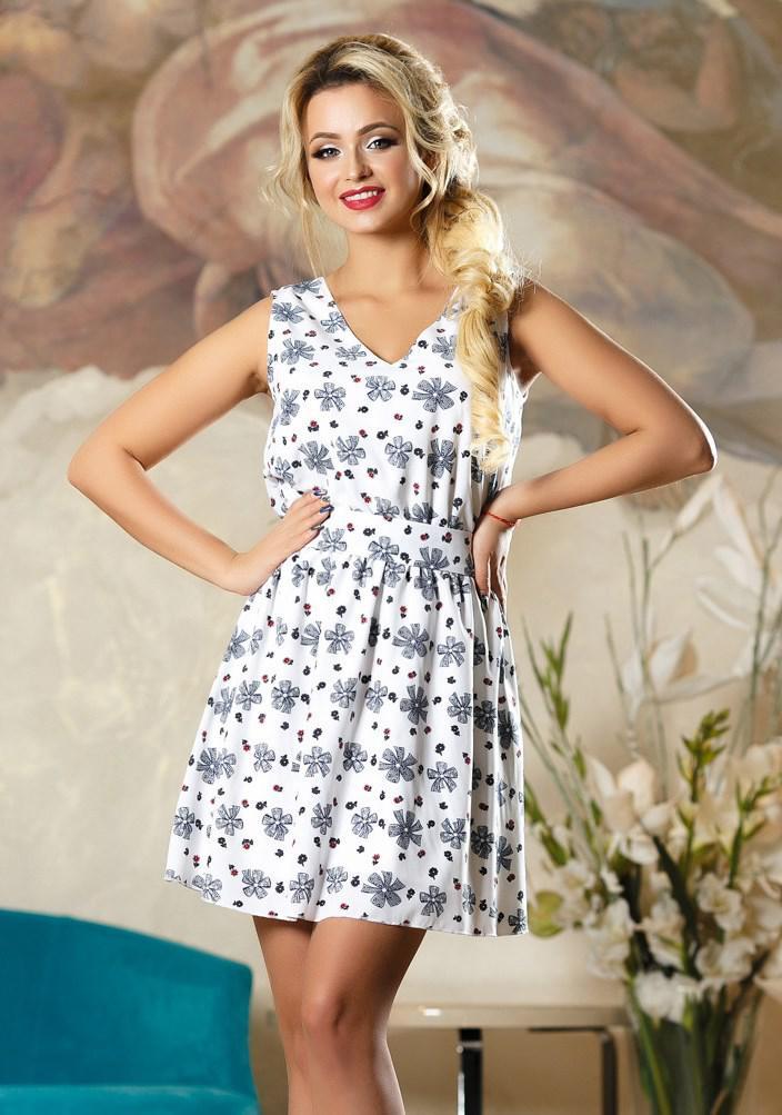 b9ac4bfd12236f5 Летнее платье коктейль софт Д-1488 - KORSETOV - Магазин женской одежды и  белья в