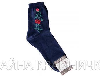 Шкарпетки  з квіткою  р-р.23