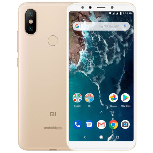 Смартфон Xiaomi Mi A2 4/32Gb Gold Global version (EU) 12 мес
