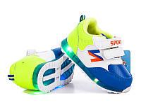 Обувь для мальчиков и девочек, детские кроссовки LED  24р. по стельке 14,5 см