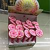 Ручка пончик , цветочек гелевая