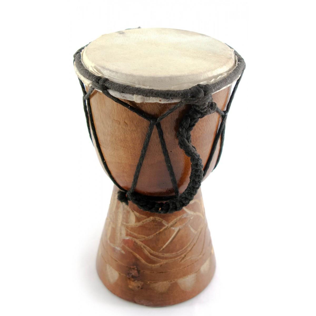 Барабан деревянный резной Джембе