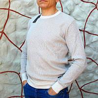 Джемпер мужской бежевый Tony Montana