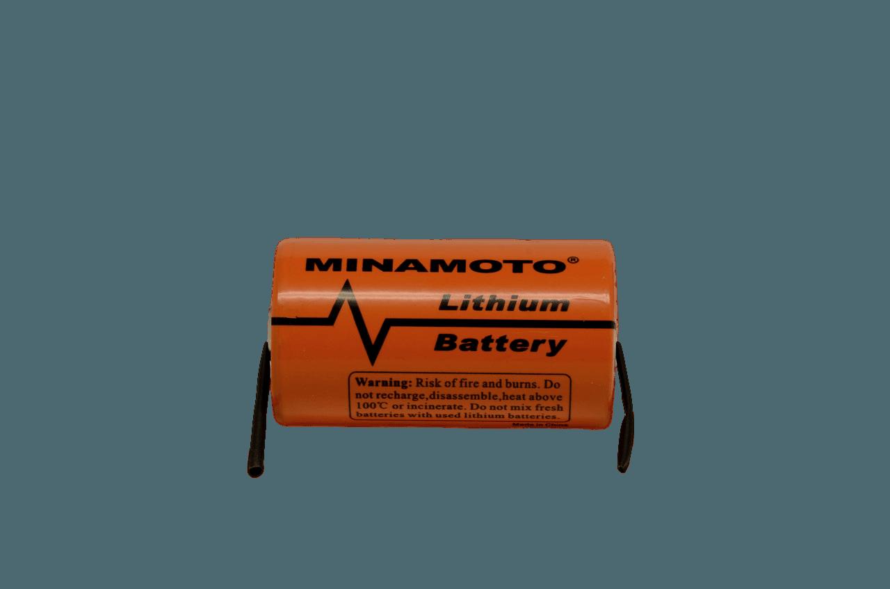 Літієва Батарейка розмір C Minamoto 3,6 вольт ER-26500/T