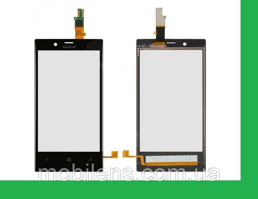 Nokia 720 Lumia Тачскрин (сенсор) черный