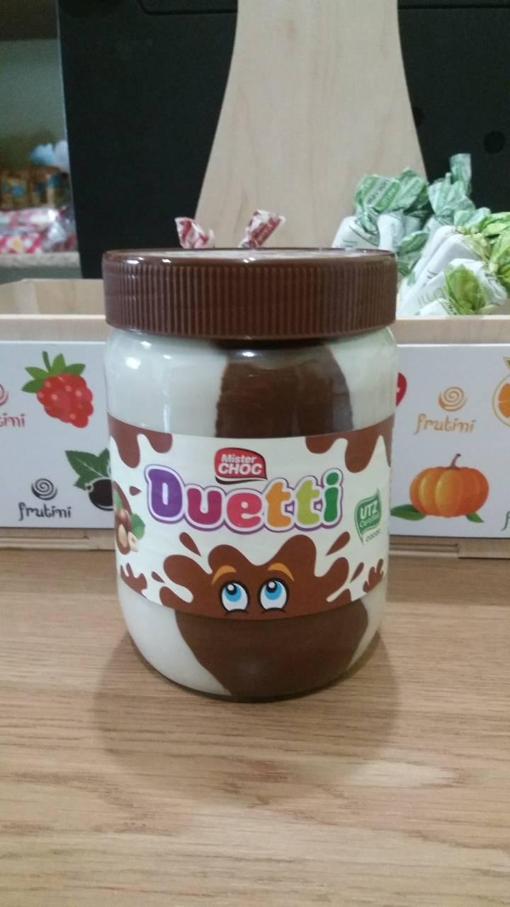 Шоколадная паста Duetti 600г