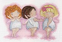 Набор для вышивки крестом М.П.Студия НВ-560 «Любоваться красотой»