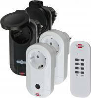Набор розеток с пультом управления Comfort-Line 2x IP20 + 2x IP44