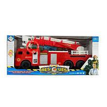 Пожарная машина на батарейках