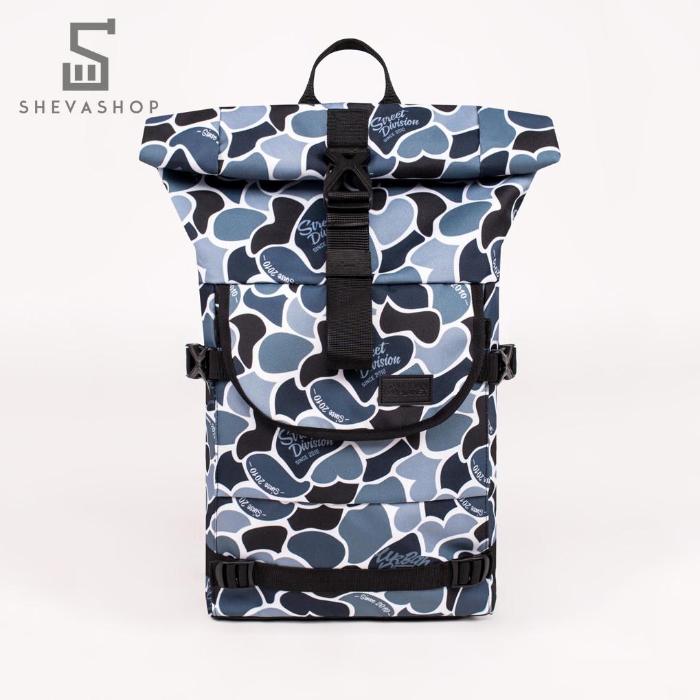 Рюкзак UP B4 DUCK CAMO серый