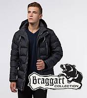 Braggart Aggressive 11726G | Зимняя мужская куртка графит, фото 1