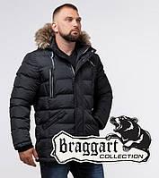 Braggart Aggressive 21226O | Куртка с меховой опушкой графит, фото 1
