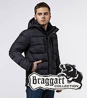 Braggart Dress Code 31610B | Куртка мужская зимняя графит, фото 1