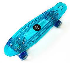 "Светиться весь Zippy Board LED 22"" Blue - Синий 54 см"