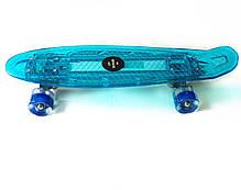 "Светиться весь Zippy Board LED 22"" Blue - Синий 54 см, фото 3"