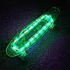 "Светиться весь Zippy Board LED 22"" Blue - Синий 54 см, фото 2"