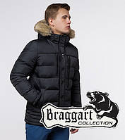 Braggart Dress Code 45610A | Теплая зимняя куртка графит, фото 1
