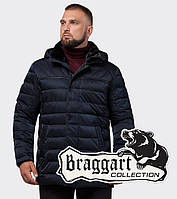 Braggart Status 16120 | Мужская куртка зимняя темно-синяя