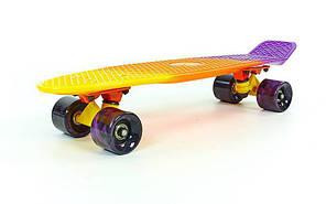 "Fish Skateboards  Dusk 22"" - Закат 57 см Multicolor, фото 2"