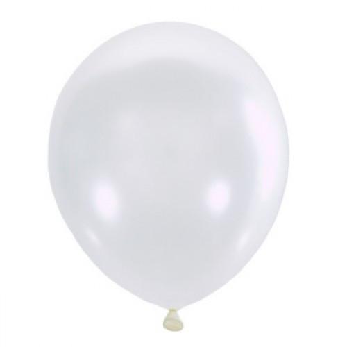 "Воздушный шар Мексика Latex Occidental 12"" (30 см) Перламутр WHITE 072 (100 шт)"
