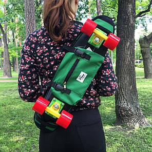 "Zippy Bag 22"" Green - Зеленая Сумка для пенни, фото 2"