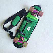 "Zippy Bag 22"" Green - Зеленая Сумка для пенни, фото 3"