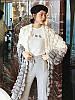 Женский модный вязаный кардиган (расцветки)