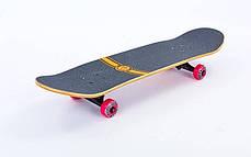 Скейтборд деревянный-канадский клен FISH - Panther 79см скейт, фото 2