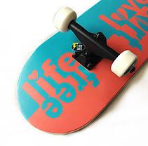 Скейтборд деревянный Bavar 79 см - Free Life скейт, фото 3