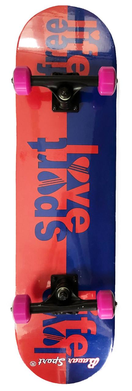 Скейтборд деревянный Bavar 79 см - Love Sport скейт
