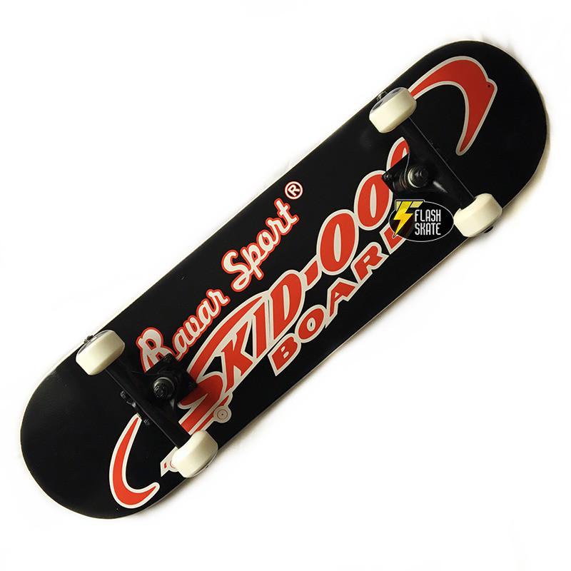 Скейтборд деревянный Bavar 79 см - Черный скейт