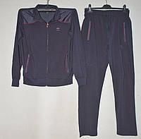 Спортивный костюм мужской без манжетов размеры 46-54 (2 цвета) Серии