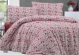 Комплект постельного белья фланель Noel Евро размер
