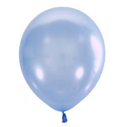 "Воздушный шар Мексика Latex Occidental 12"" (30 см) Перламутр BLUE 071 (100 шт)"