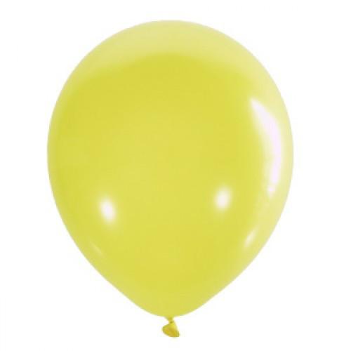 """Воздушный шар Мексика Latex Occidental 12"""" (30 см) Пастель YELLOW 001 (100 шт)"""