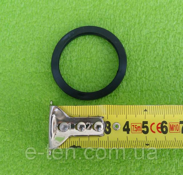 Резиновый уплотнитель для бойлера, кольцо резиновое круглое ПЛОСКОЕ под тэн на фланце Ø48мм