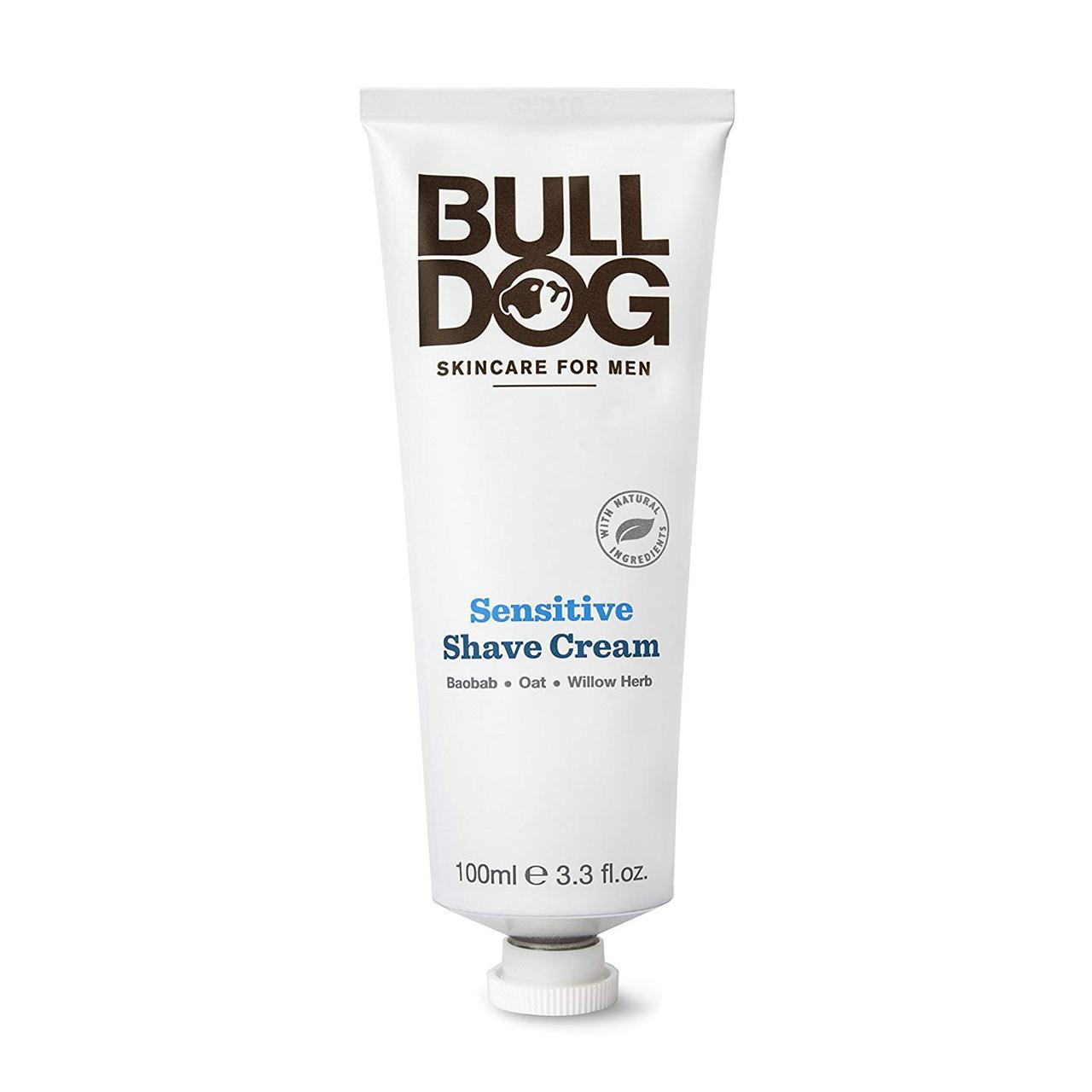 Мужской крем для бритья Bulldog Sensitive Shave Cream, 100мл