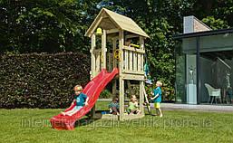 Детская игровая площадка Blue Rabbit KIOSK, домик с горкой
