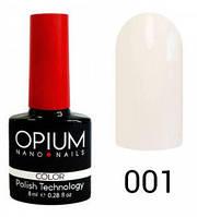 Гель-лак Opium 8 мл №001