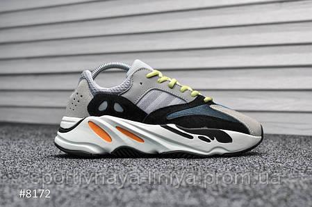 Кроссовки мужские серые Adidas Yeezy 700 Wave Runner (реплика) , фото 2