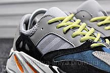 Кроссовки мужские серые Adidas Yeezy 700 Wave Runner (реплика) , фото 3