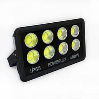 Светодиодный прожектор Powerlux 400Вт, 6500К, IP65.