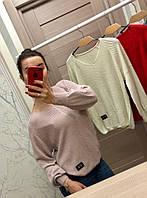 Женский стильный свитер (расцветки), фото 1