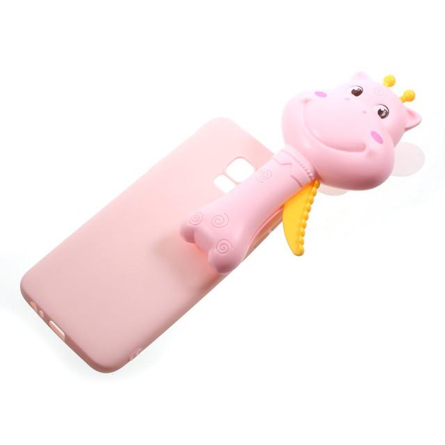 Samsung Galaxy J4 2018 3D чехол розовый