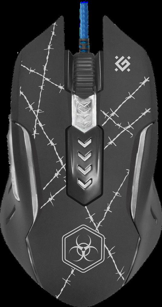 Игровая мышь DEFENDER Forced GM-020L + коврик