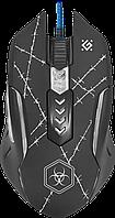 Мышь игровая DEFENDER Forced GM-020L 6 кн., 3200dpi + игр.коврик